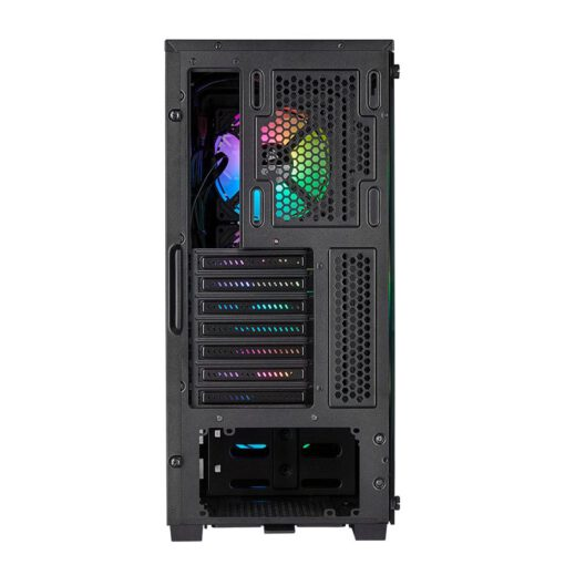 CORSAIR iCUE 220T RGB Airflow Tempered Glass Smart Case – Black 10