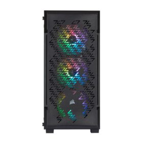 CORSAIR iCUE 220T RGB Airflow Tempered Glass Smart Case – Black 3