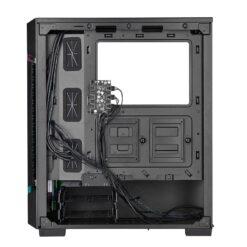 CORSAIR iCUE 220T RGB Airflow Tempered Glass Smart Case – Black 5