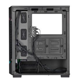 CORSAIR iCUE 220T RGB Airflow Tempered Glass Smart Case – Black 5