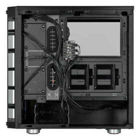CORSAIR iCUE 465X RGB Airflow Tempered Glass Smart Case Black 5