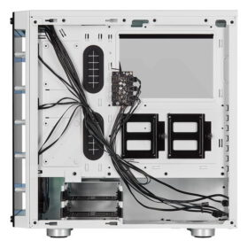 CORSAIR iCUE 465X RGB Airflow Tempered Glass Smart Case White 5
