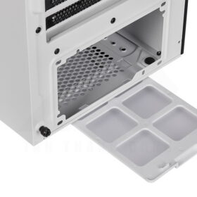 CORSAIR iCUE 465X RGB Airflow Tempered Glass Smart Case White 7