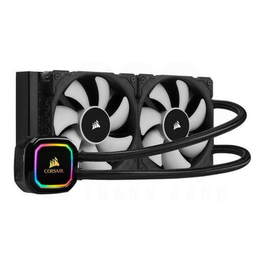 CORSAIR iCUE H100i RGB PRO XT Liquid CPU Cooler 1