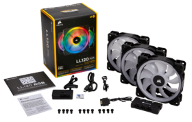 Corsair LL120 RGB Triple Pack 2