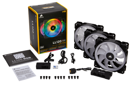Corsair LL120 RGB Triple Pack 2