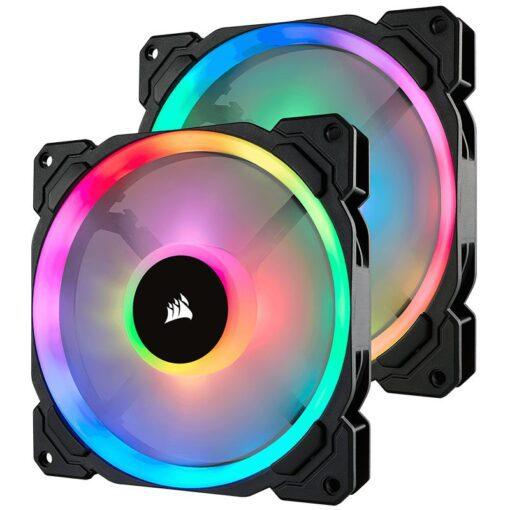 Corsair LL140 RGB Twin Pack 1