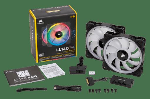 Corsair LL140 RGB Twin Pack 2