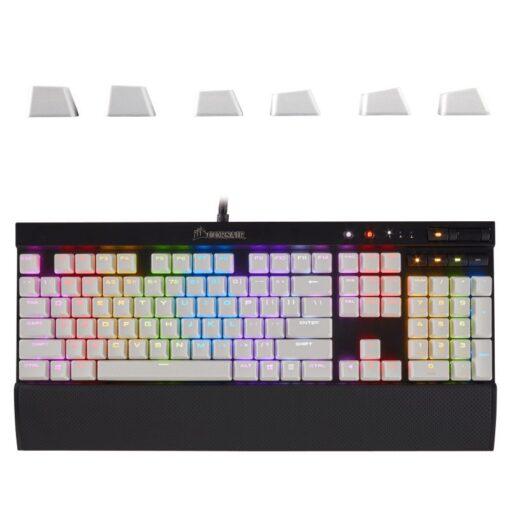 Corsair PBT Keycaps White 6