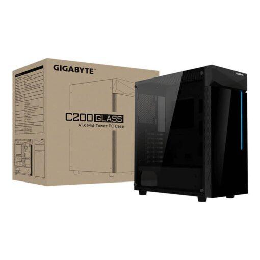 GIGABYTE C200 GLASS Gaming Case 5