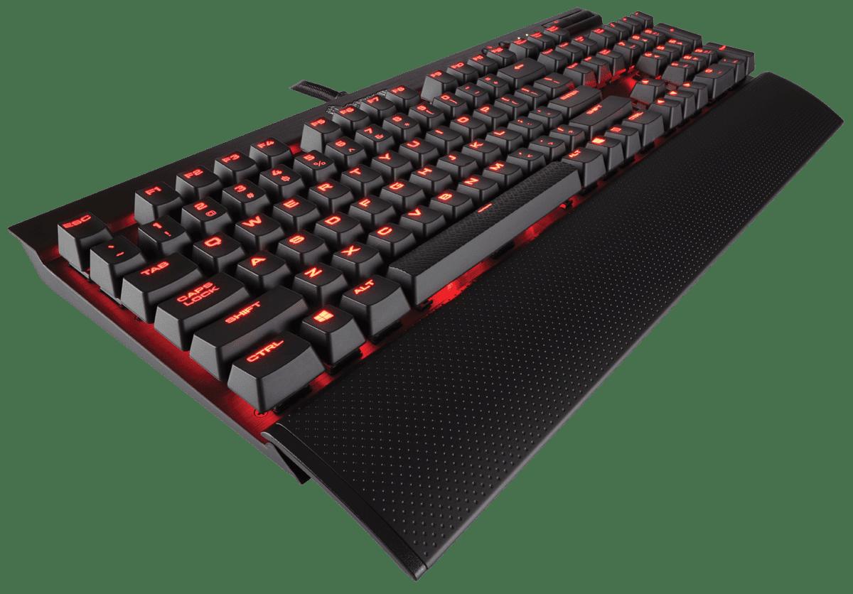 CORSAIR K70 LUX Gaming Keyboard - Red Switch -