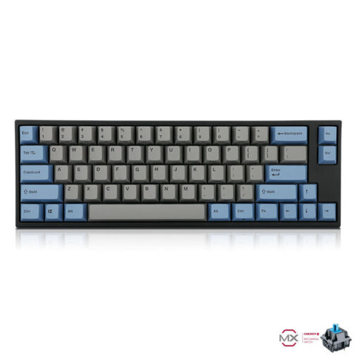 Leopold FC660M PD Grey Blue Keyboard Blue Switch
