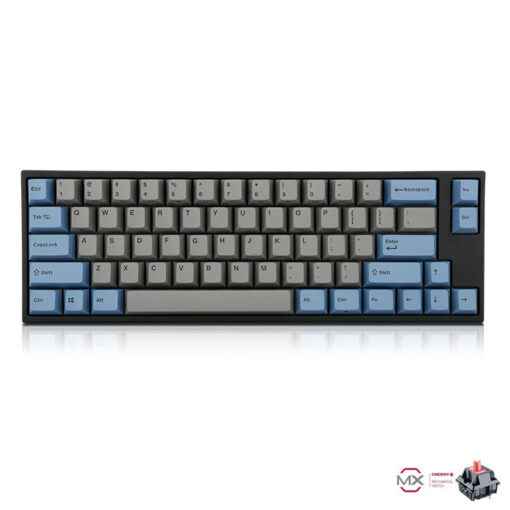 Leopold FC660M PD Grey Blue Keyboard Silent Red Switch
