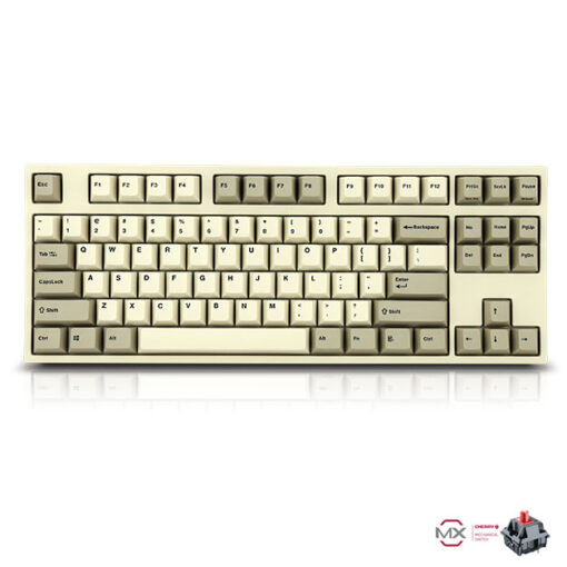 Leopold FC750R PD White Keyboard Red Switch