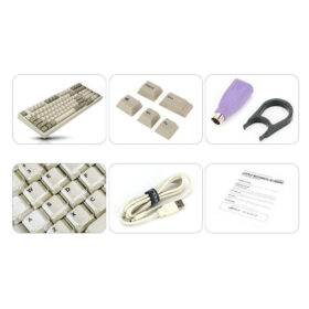Leopold FC980M PD White Grey Keyboard 3
