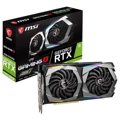 MSI Geforce RTX 2060 SUPER GAMING X 8G Graphics Card 1