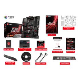 MSI MPG X570 GAMING PLUS Mainboard 2