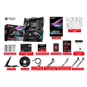 MSI MPG X570 GAMING PRO CARBON WIFI Mainboard 2