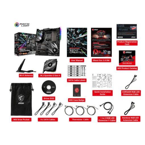 MSI PRESTIGE X570 CREATION Mainboard 5