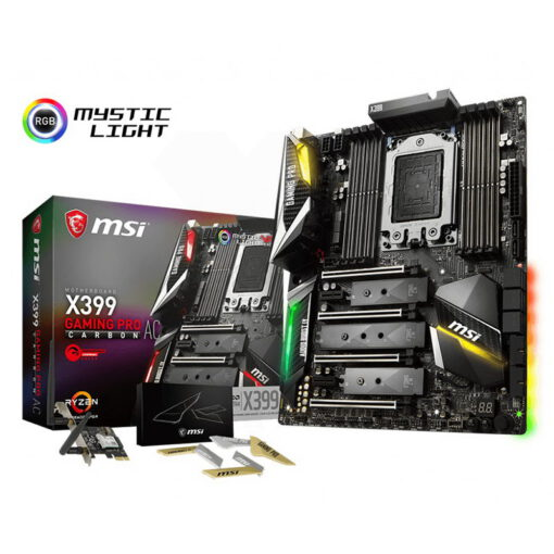 MSI X399 Gaming Pro Carbon AC Mainboard