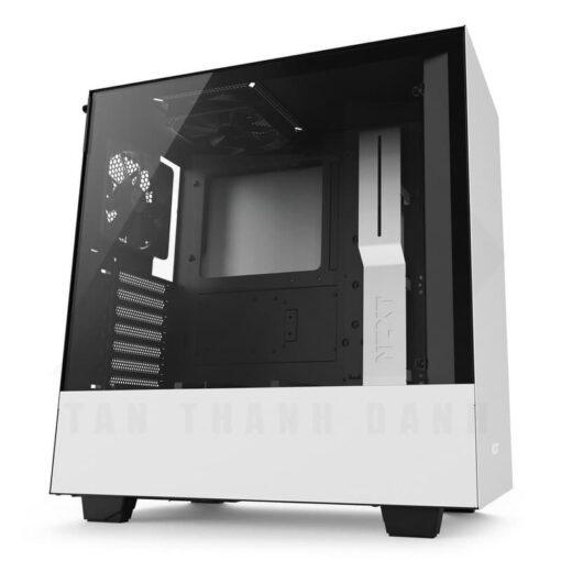 NZXT H500 Matte White 01