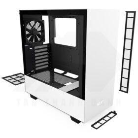 NZXT H510 Case Matte White 6