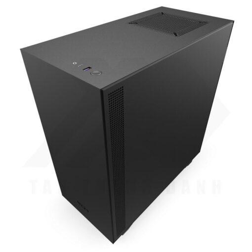 NZXT H510i Case Matte Black Red 2