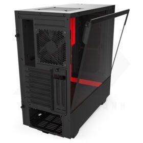 NZXT H510i Case Matte Black Red 3