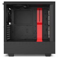 NZXT H510i Case Matte Black Red 4