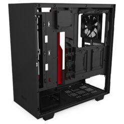 NZXT H510i Case Matte Black Red 5