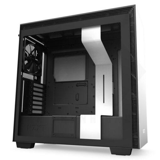 NZXT H710 Case Matte White 1