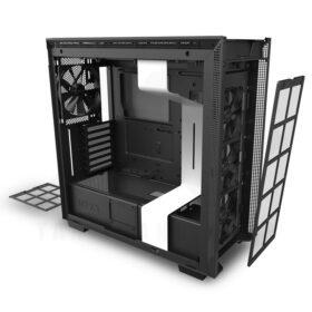 NZXT H710 Case Matte White 3