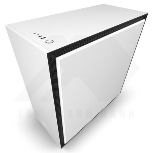 NZXT H710 Case Matte White 5