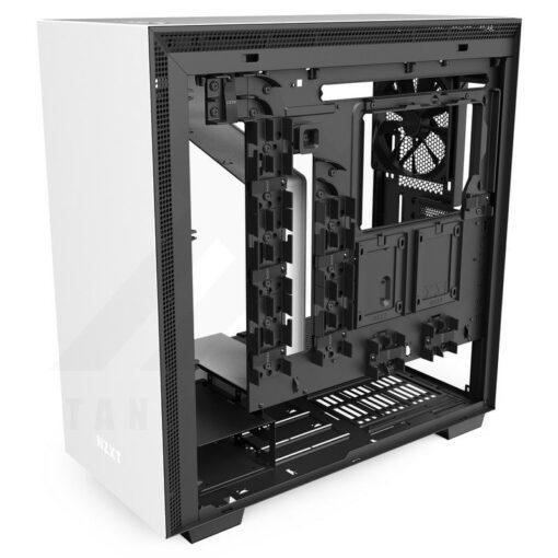 NZXT H710 Case Matte White 8