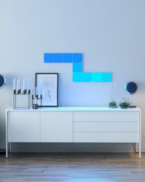 Nanoleaf Canvas Smarter Kit 9 Light Squares 1