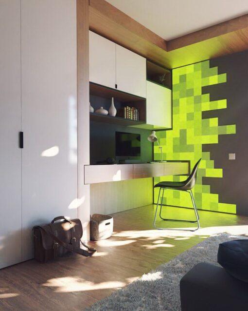 Nanoleaf Canvas Smarter Kit 9 Light Squares 5
