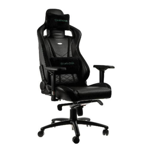 Noblechairs EPIC Series Gaming Chair Black Green 1
