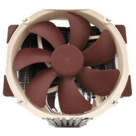 Noctua NH D15 Dual Tower CPU Cooler 2