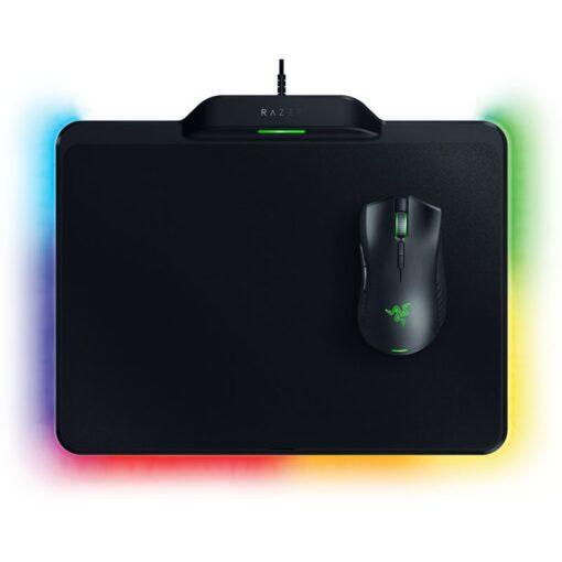 Razer Mamba Gaming Mouse Firefly Mouse Mat Hyperflux Wireless Power Combo