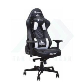 SADES Pegasus Gaming Chair Black White TTD 002