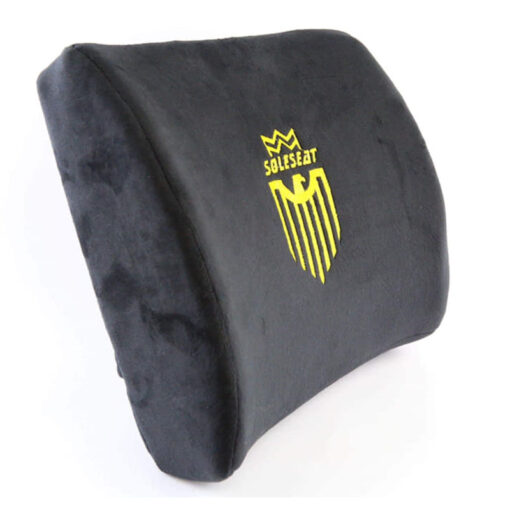 SOLESEAT Fabric Memory Lumbar Pillow