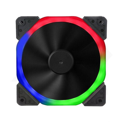 Sama Halo Dual Ring Rainbow RGB Fan