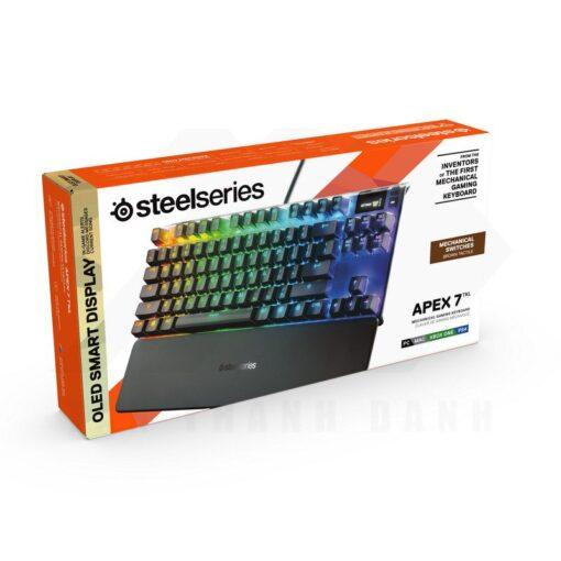 SteelSeries Aepx 7 TKL Gaming Keyboard 7