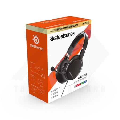 SteelSeries Arctis 1 Gaming Headset Black 4