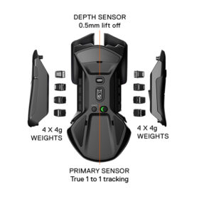 SteelSeries Rival 650 Wireless Gaming Mouse 3