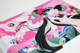 Varmilo Koi Series Camellia Desk Mat 4