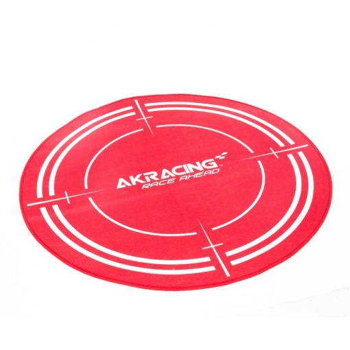 akracing floor mat red