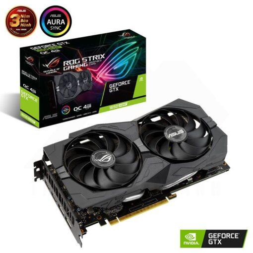 ASUS ROG Strix Geforce GTX 1650 SUPER OC Edition 4G Graphics Card 1
