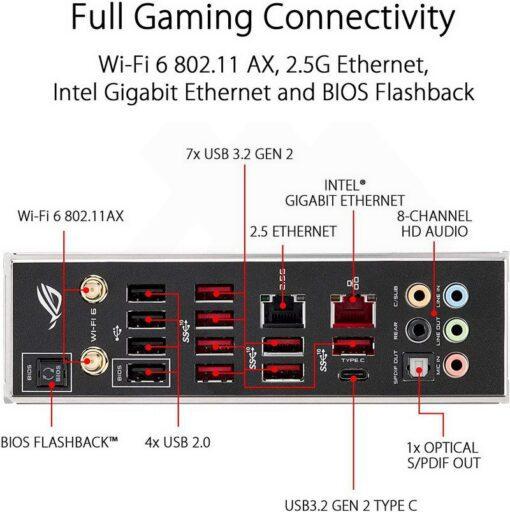 ASUS ROG Strix TRX40 E Gaming Mainboard 5
