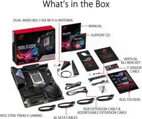 ASUS ROG Strix TRX40 E Gaming Mainboard 6